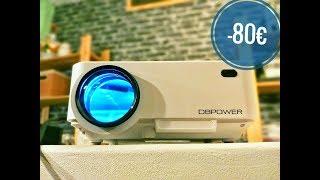 El Increible Proyector por 80€ - Review DBPower T20 Mini