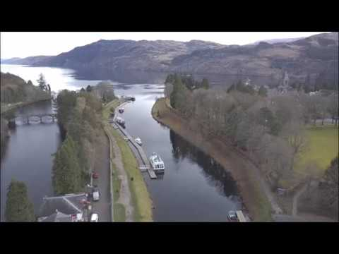 Loch Ness The Caledonian Canal & Fort Augustus