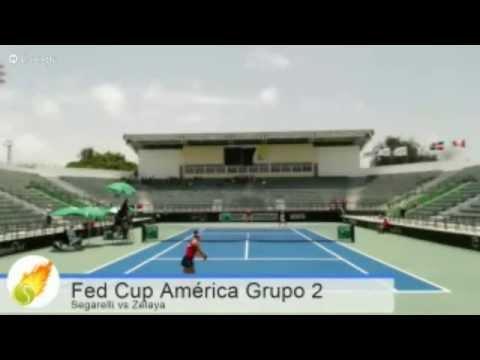 Fed Cup: Francesca Segarelli (DOM) vs Zulema Zelaya