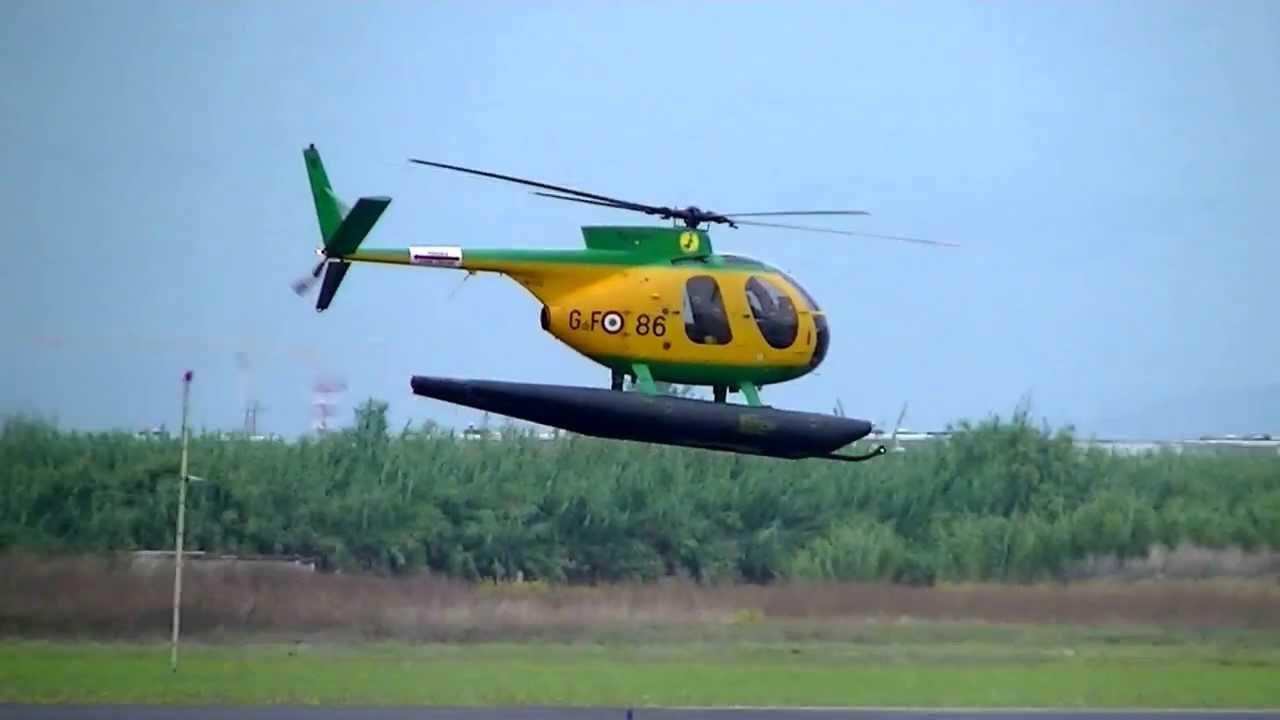 Elicottero Nh500 : Elicottero nh della guardia di finanza in decollo da