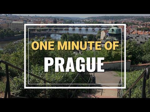 One minute of Prague, Czech Republic