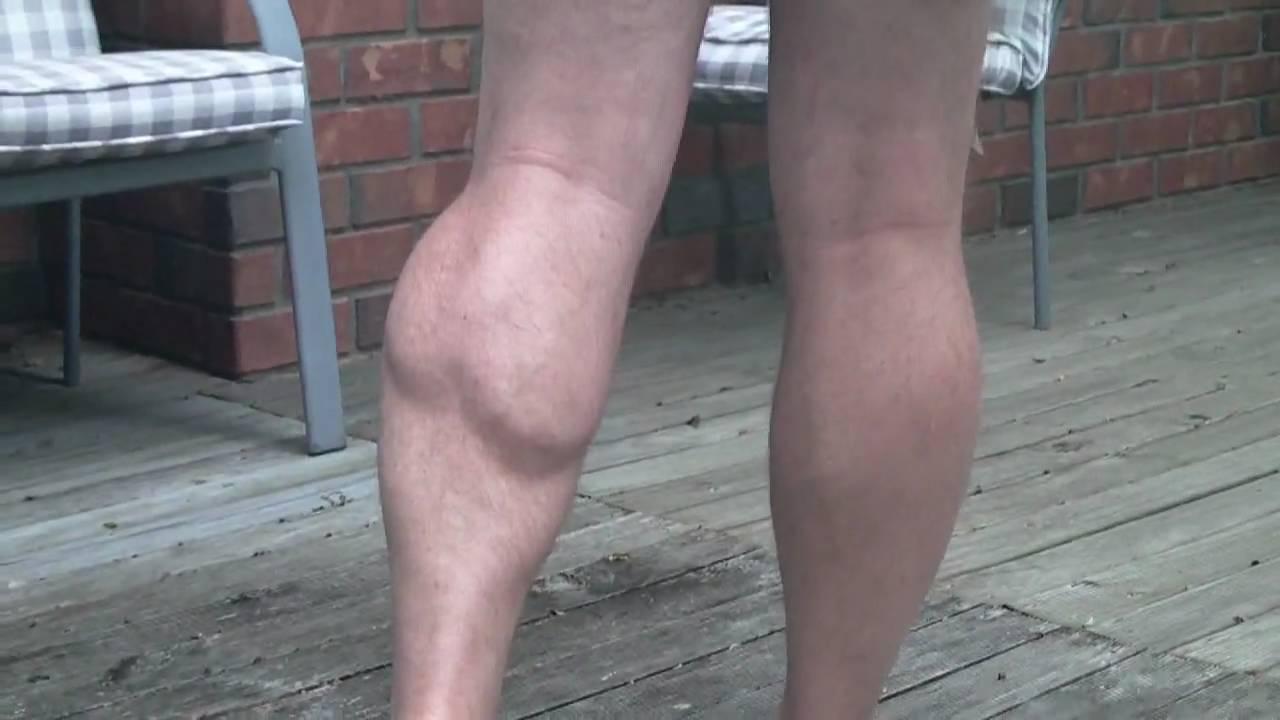 Calf Muscle Flexing Youtube
