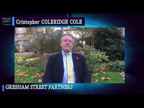 Cristopher Coleridge Cole - Gresham Street Partners | Property & Finance Summit Speaker