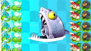 Max Level All Zombot Plants vs Zombies 2 Mod - Dr Zomboss vs Max Plants Challenge