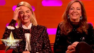 "Margot Robbie Explains The Saying ""We're Not Here To F*ck Spiders"" 