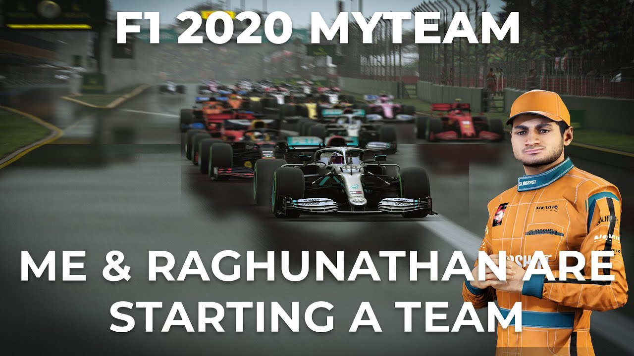 F1 2020 MyTeam | Raghunathan and Me against the Rest | Random Excuse Racing is born