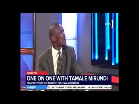 One on One with Tamale Mirundi - 31 Jan 2017 - Part II