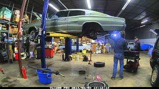 1966 Charger, Day 1 of suspension work.