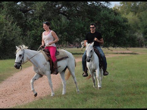 Horseback Riding at BlissWood Ranch in Texas! - YouTube