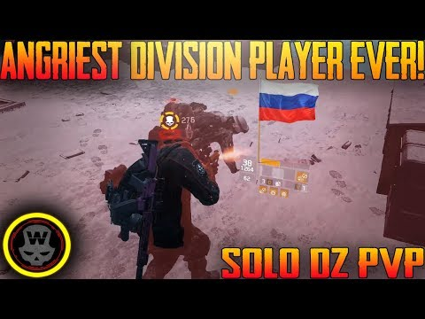 ANGRIEST DIVISION PLAYER EVER! SOLO DZ PVP #22 (The Division 1.7)