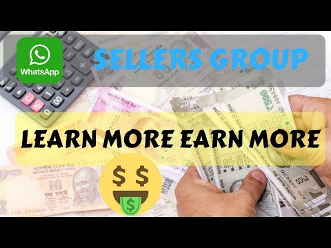 E-commerce Sellers Whatsapp Group (LEARN MORE AND EARN MORE)