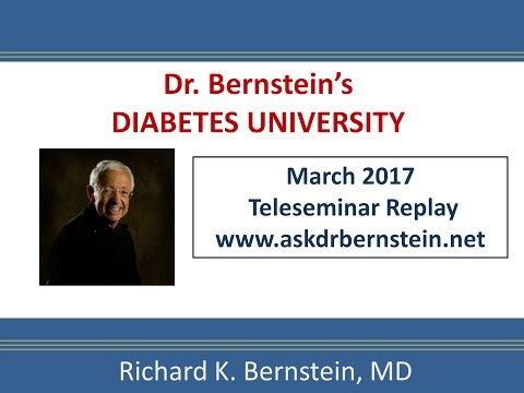 Teleseminar 18. March 2017. A full hour of answers to your diabetes questions.