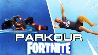 PARKOUR FORTNITE Movements in REAL LIFE