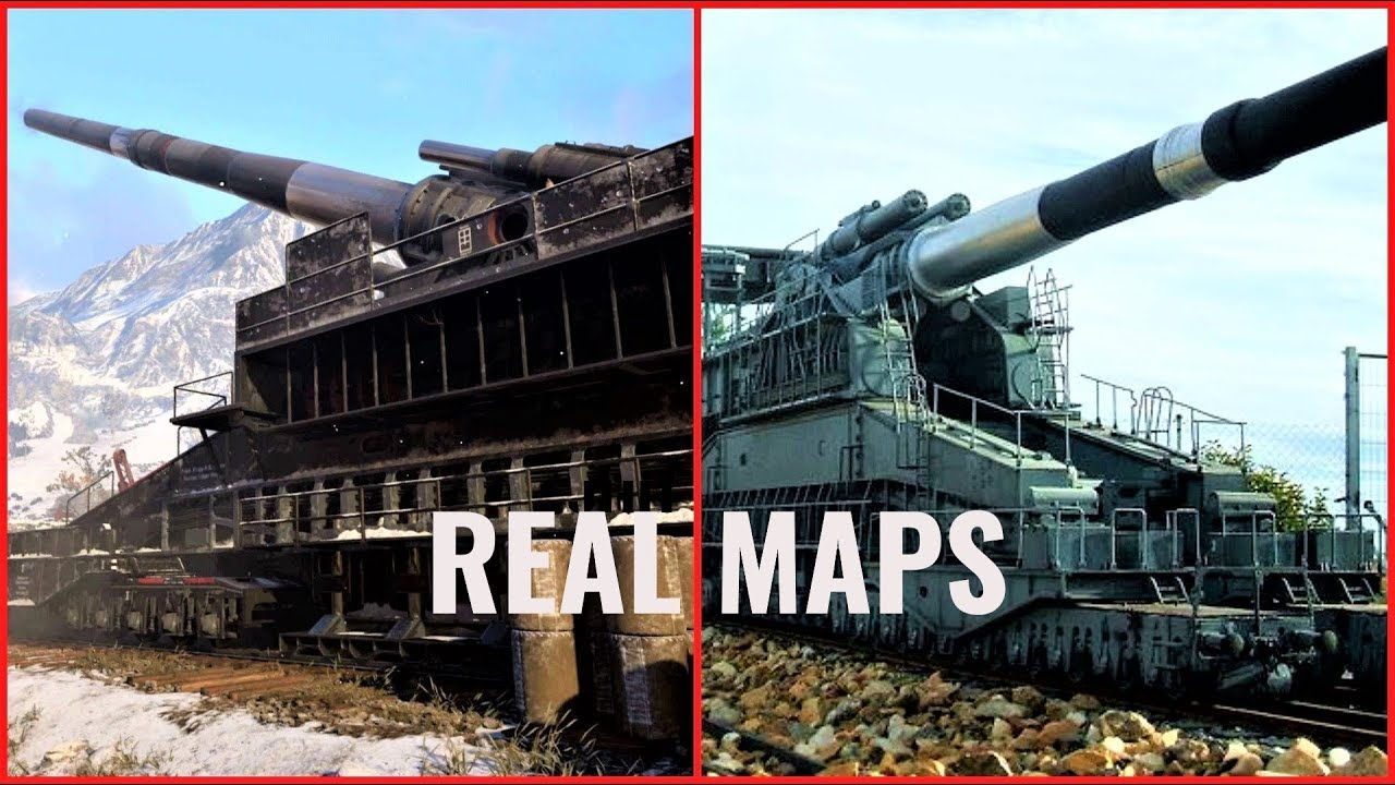 Call Of Duty WW2 Multiplayer Map Locations In Real Life