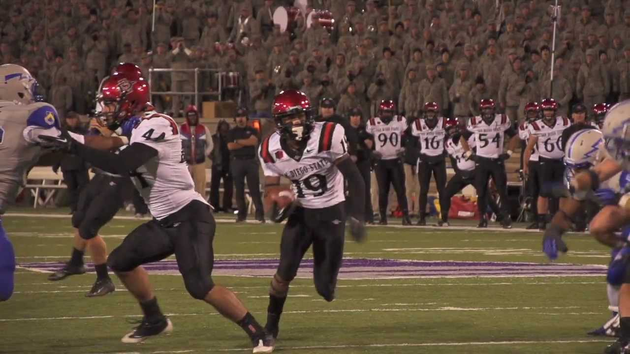2013 San Diego State vs Air Force Football Highlights ...