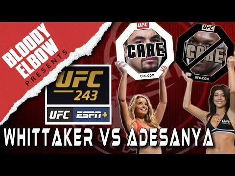 UFC 243 - Whittaker vs Adesanya - Care/Don't Care Preview | UFC Copenhagen REVIEW