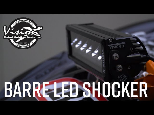 Présentation de la barre LED Shocker de VisionX pour ReulParts