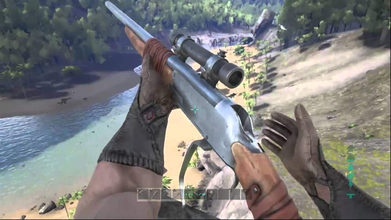 Sniper Rifle Hunting ARK Survival Evolved Xbox One