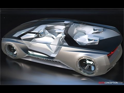 sci fi car design audi 39 ender 39 s game 39 concept youtube. Black Bedroom Furniture Sets. Home Design Ideas