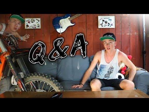 SNAPCHAT Q&A! - MIN FÖRSTA YOUTUBEVIDEO