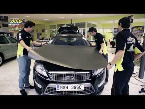 видео: Полная поклейка автомобиля карбоновой пленкой 2012