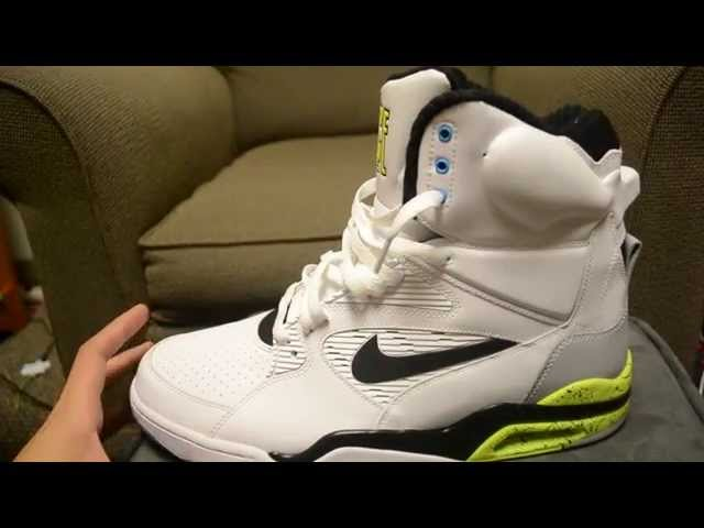 288f8683141f49 Nike Air Command Force - Detailed Look   Review - WearTesters