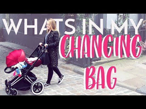 What's In My CHANGING BAG | Fleur De Force