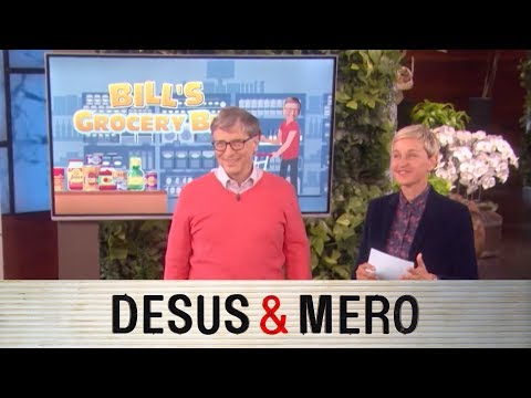 Bill Gates Plays Price is Right with Ellen