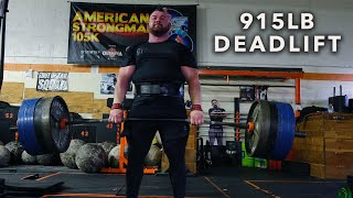 915LB DEADLIFT!