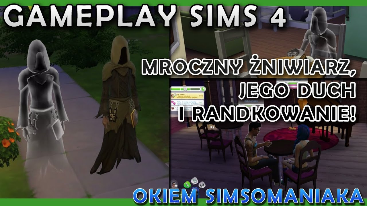 the sims 4 gameplay 04 mroczny niwiarz jego duch i. Black Bedroom Furniture Sets. Home Design Ideas
