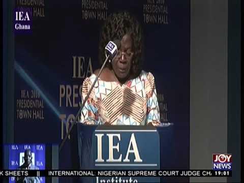 IEA 2016 Presidential Townhall Debate - Joy News (22-11-16)