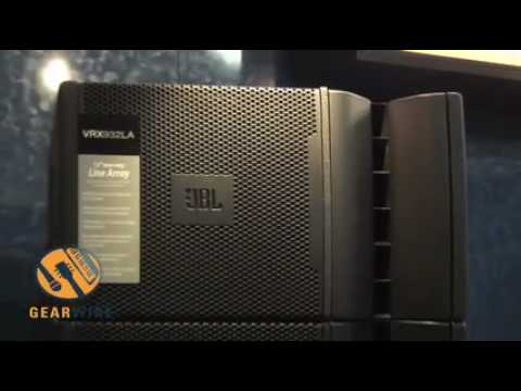 Jbl Sound System >> JBL's VRX900 Portable High-Performance PA - YouTube