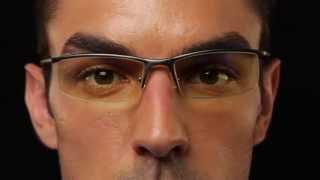 GUNNAR Emissary Semi-Rimless Advanced Computer Eyewear