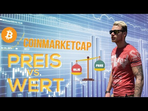 Crypto market cap FAKE?!  Preis VS. Wert BITCOIN & ALTCOINS ► Ist der Preis auf Coinmarketcap REAL?!