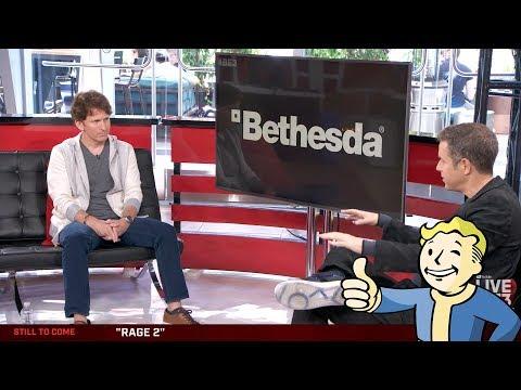 FULL TODD HOWARD INTERVIEW|BETHESDA E3 2018