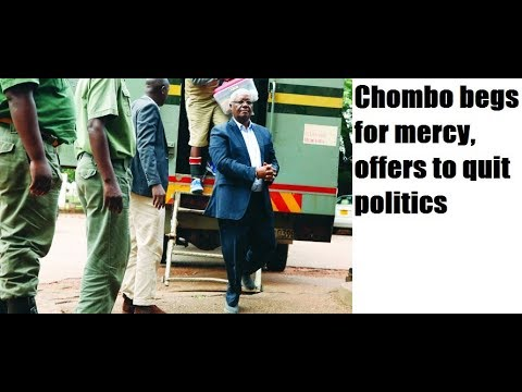 Chombo begs for mercy, offers to quit politics-zimnewstoday