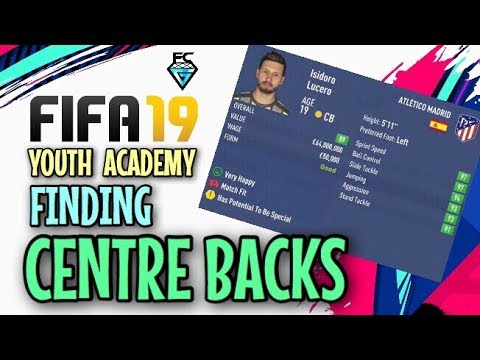 FIFA 19 Youth Academy: Finding Centre Backs
