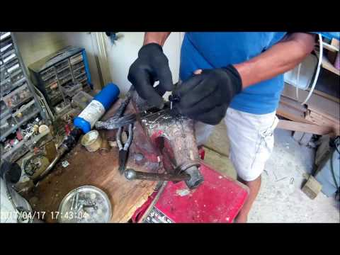 Repair( Hack) Harbor Freight ,Chicago Electric Jack Hammer Repair, springs , carbon Brushes