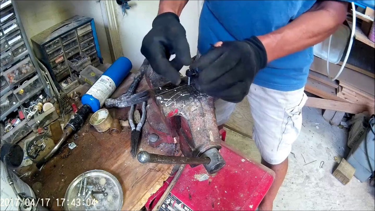 Repair( ) Harbor Freight ,Chicago Electric Jack Hammer Repair, springs on