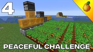Peaceful Challenge #4: Potato Harvesting Machine And Iron Farm