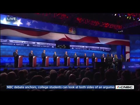 Third Republican Primary Debate - Main Stage - October 28 2015 on CNBC