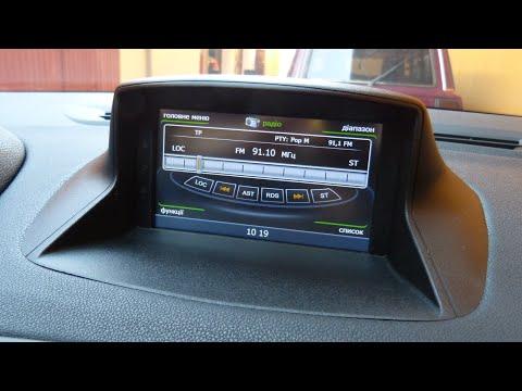 Штатная магнитола Winca C059 для Renault Fluence и Renault Megan Установка GPS навигации