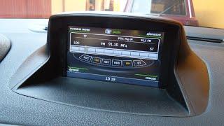 штатная магнитола Winca C059 для Renault Fluence и Renault Megan - Установка GPS навигации