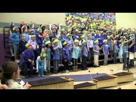 2011 Avery Singing at School