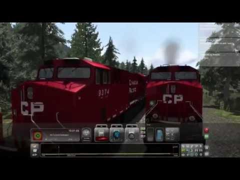 Train Sim Sunday....NEW REGION.....Canadian mountain pass