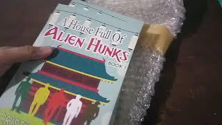 A House Full of Alien Hunks Self Pub Unboxing