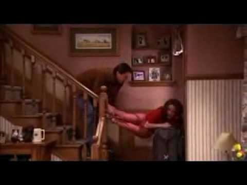 Image result for everybody loves raymond suitcase on stairs