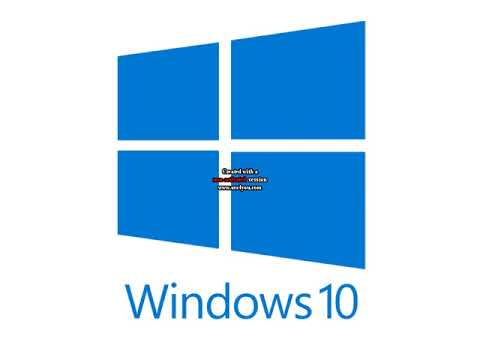 Microsoft Windows 10 Logo From 2015 (ONLY COMMENT Windows 10) (READ DESC)