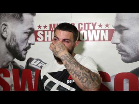 Mike Perry speaks after KO of the year contender win at UFC Nashville