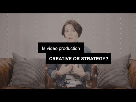Is video a creative service or marketing product?